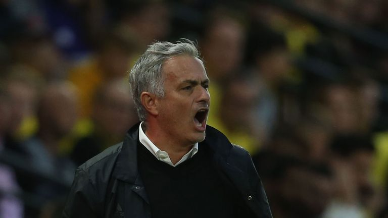 Jose Mourinho believes his side could have added to their tally in the first half