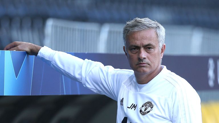 Manchester United still in for hard season despite good form Jose Mourinho