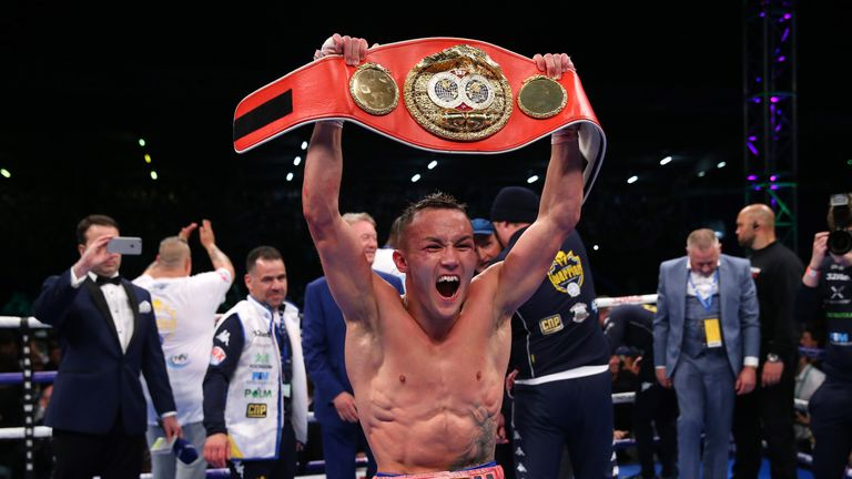 Josh Warrington will put his  IBF world featherweight title on the line against Carl Frampton