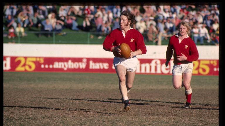 Wales legend JPR WIlliams played for the 1970s team that inspired Tokumasu