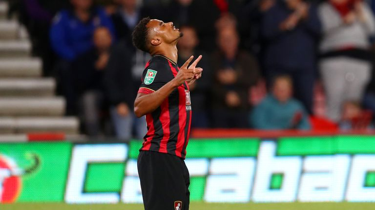 Junior Stanislas fired Bournemouth ahead on his return to the side
