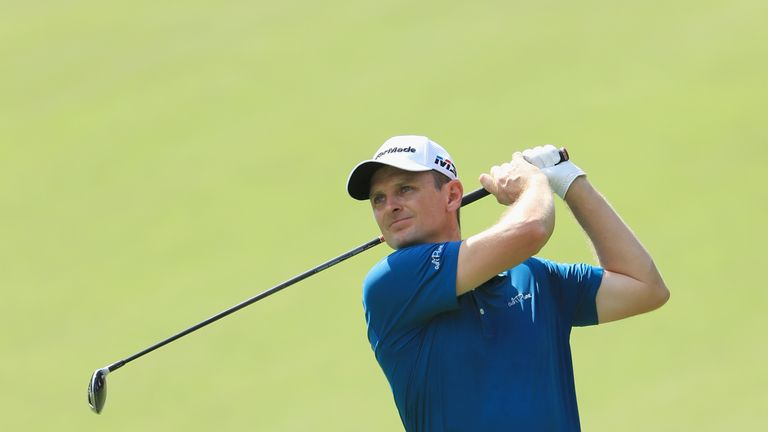 Justin Rose remains in contention in his bid to claim overall FedExCup victory