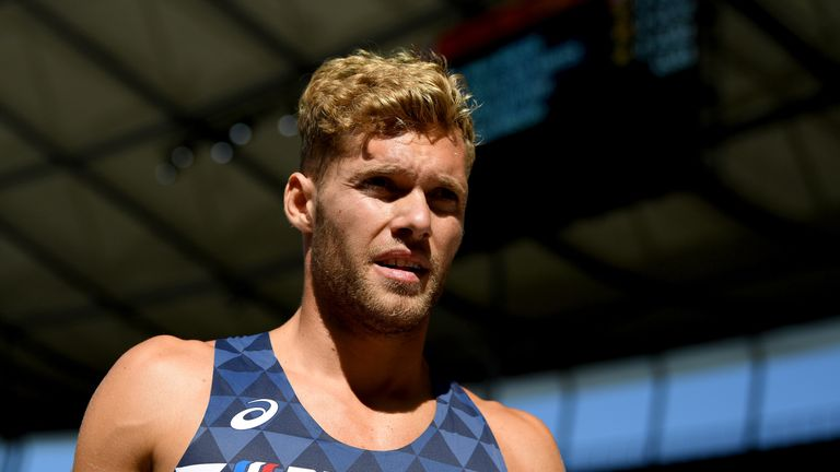 Kevin Mayer broke the record previously held by Ashton Eaton