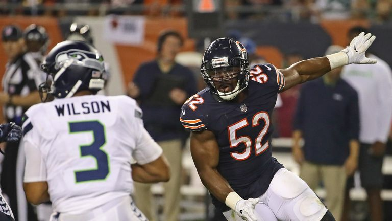 Khalil Mack has been a revelation in Chicago since his much-publicised trade from Oakland