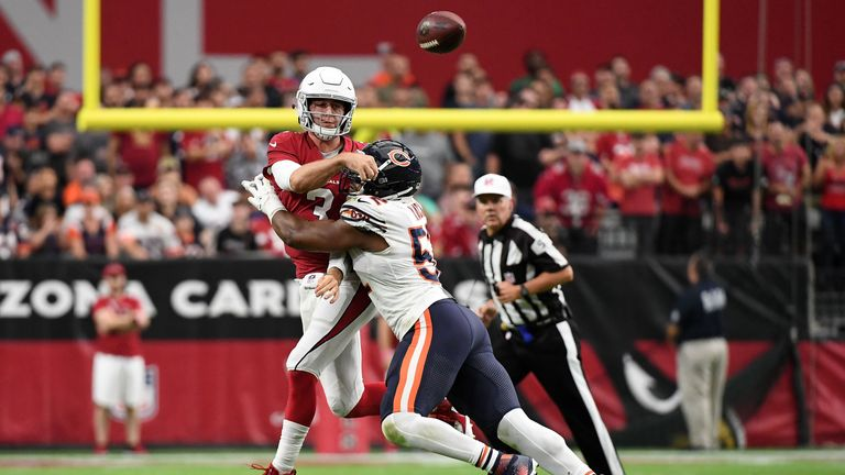 Khalil Mack was at his disruptive best again for the Bears defense against the Cardinals