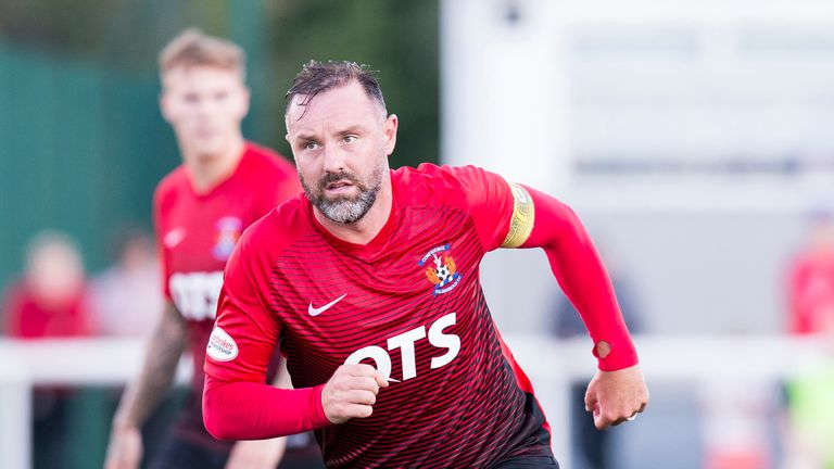 Kris Boyd has not started a game for Kilmarnock since August 25th against Hearts