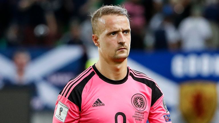 Leigh Griffiths will sit out Scotland's next two fixtures