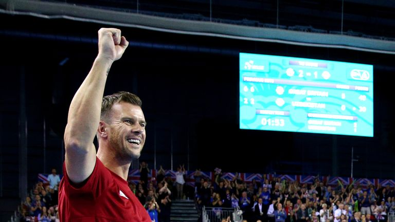 Great Britain captain Leon Smith will be hoping his side get a wild card into next year's Davis Cup finals