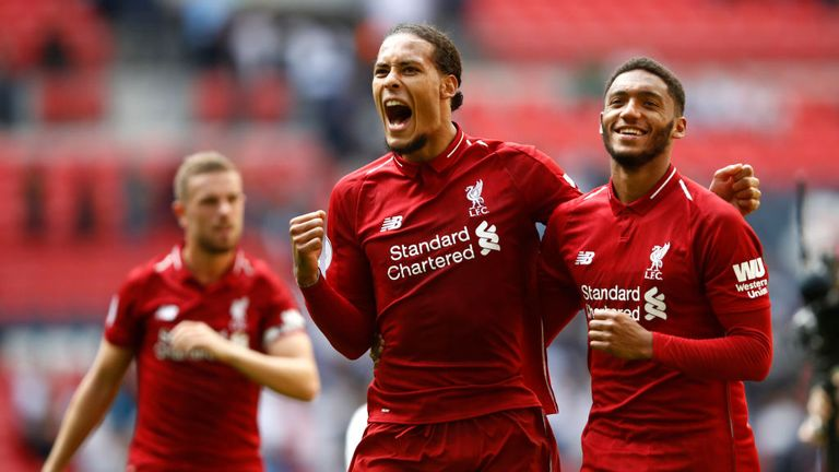 Virgil van Dijk has shored up Liverpool's defence since joining from Southampton