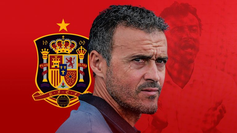 Luis Enrique is Spain's new head coach