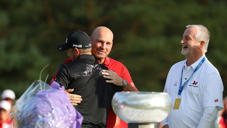 Wallace performed superbly in front of Thomas Bjorn in Denmark