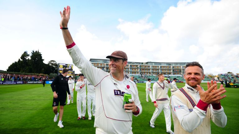 Trescothick has scored a record 52 first class centuries for Somerset