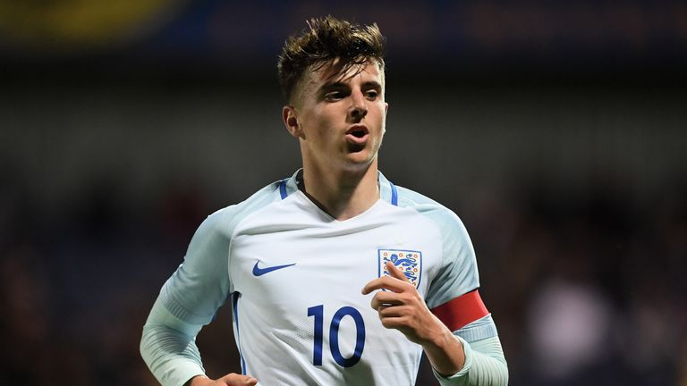Mount earned his first England U21s call-up on Tuesday