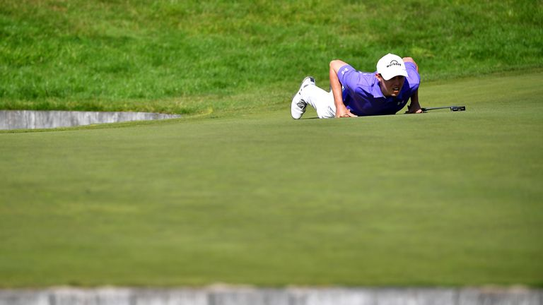 Fitzpatrick birdied the 18th twice to pip Lucas Bjerregaard