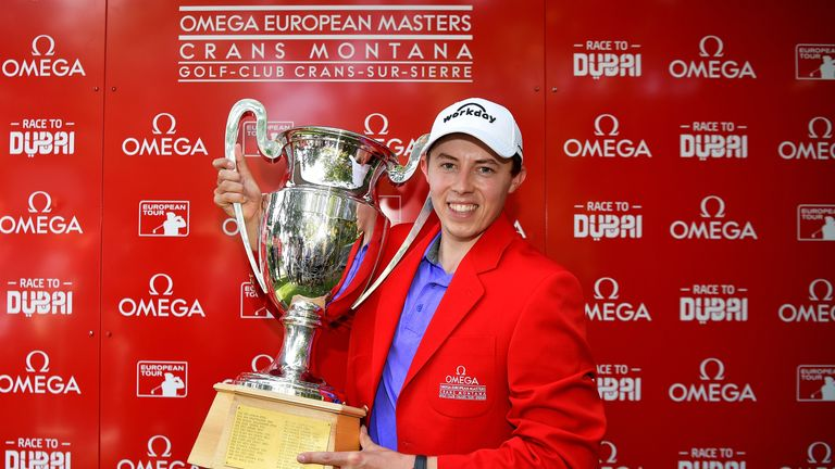Matt Fitzpatrick won for the first time since the European Masters last year