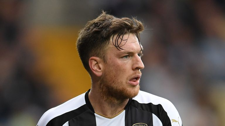 Notts County's Matt Tootle has spoken out about his problems with gambling