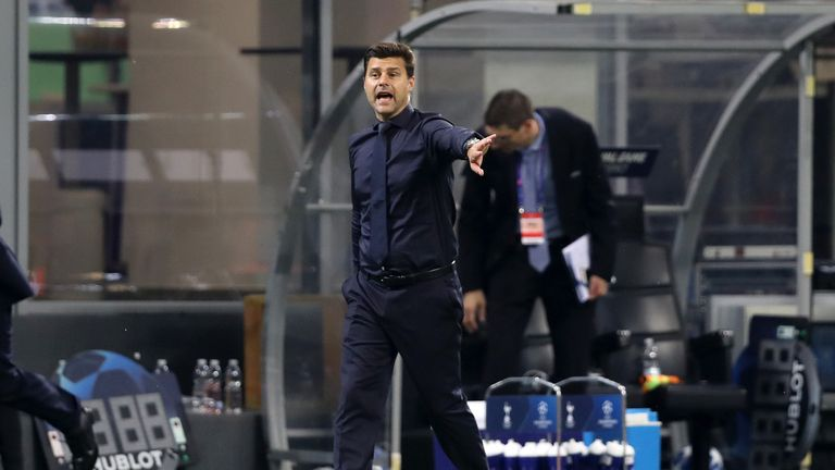 Mauricio Pochettino claimed Spurs put in their best performance of the season so far against Inter Milan