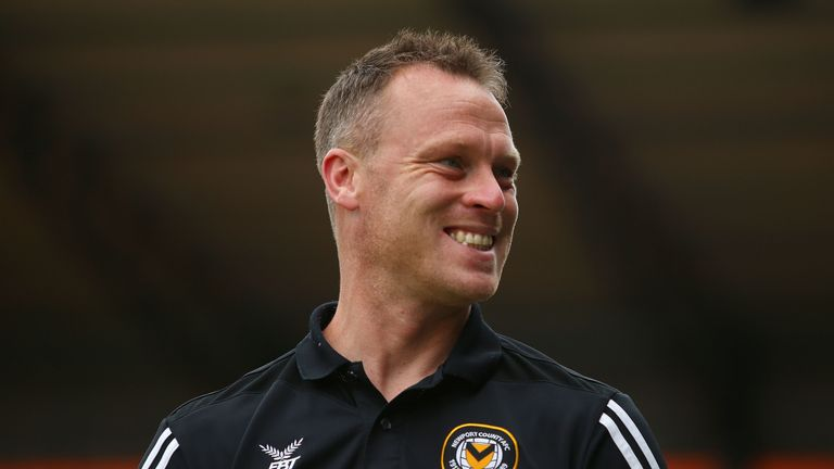 Michael Flynn guided Newport County to 11th place in League Two last season