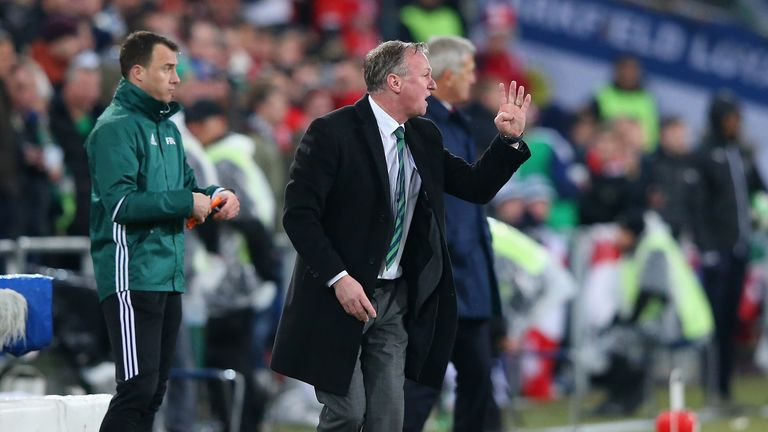 Michael O'Neill has been in charge of the Northern Ireland national team since 2011