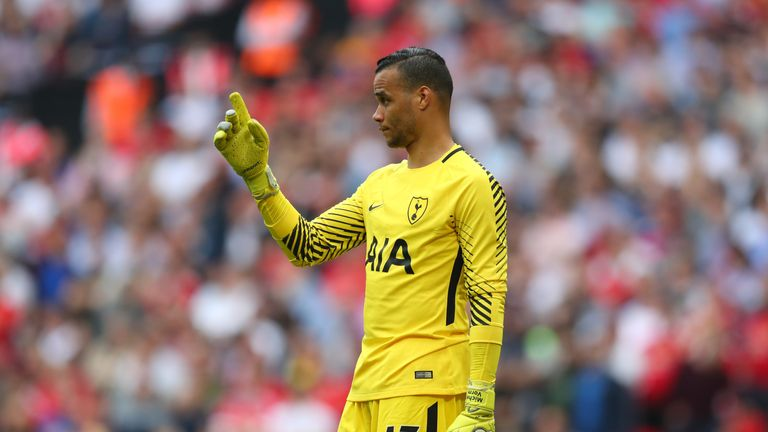 Michel Vorm had a moment to forget in Spurs' defeat at Watford