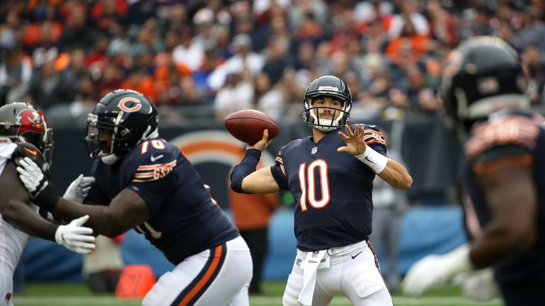 Can Mitch Trubisky lead the Bears to victory under the bright lights on Sunday night?
