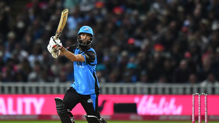 Moeen Ali scored 82 runs and took five wickets across two games on Finals Day