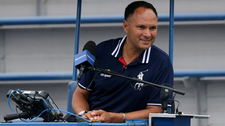 Mohamed Lahyani will be back in the umpire's chair in October
