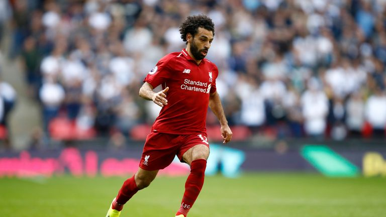 Mohamed Salah's Liverpool won 2-1 against Tottenham