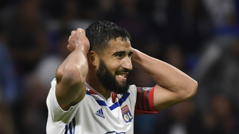Nabil Fekir has returned to action for Lyon this season