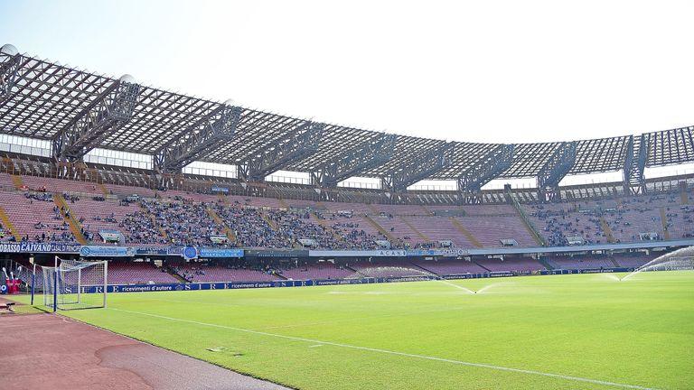 Napoli president Aurelio De Laurentiis says the Stadio San Paolo is a 'bad stadium'