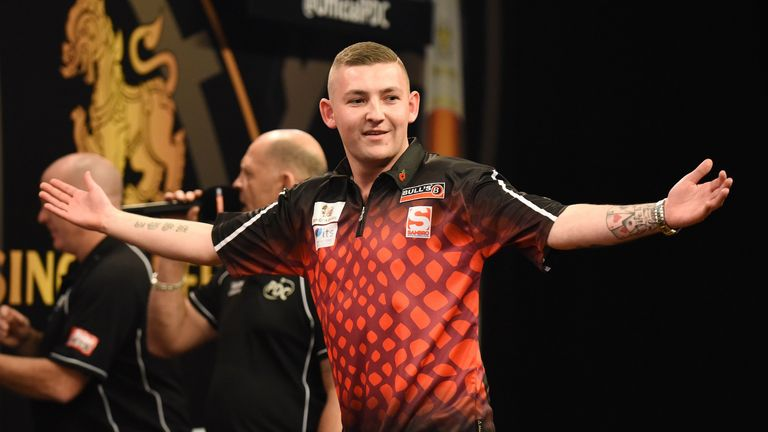 Nathan Aspinall claimed his first PDC ranking title
