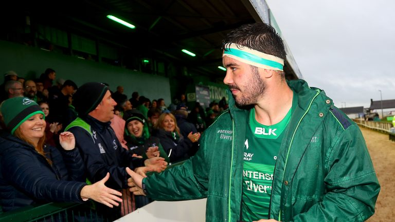 Paul Boyle registered a brace as Connacht picked up a first win of the season