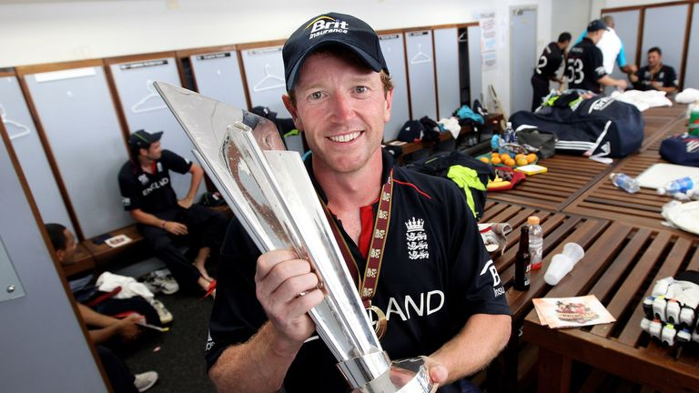 One of England's greatest limited overs players, Collingwood captained the 2010 World Twenty20 winners