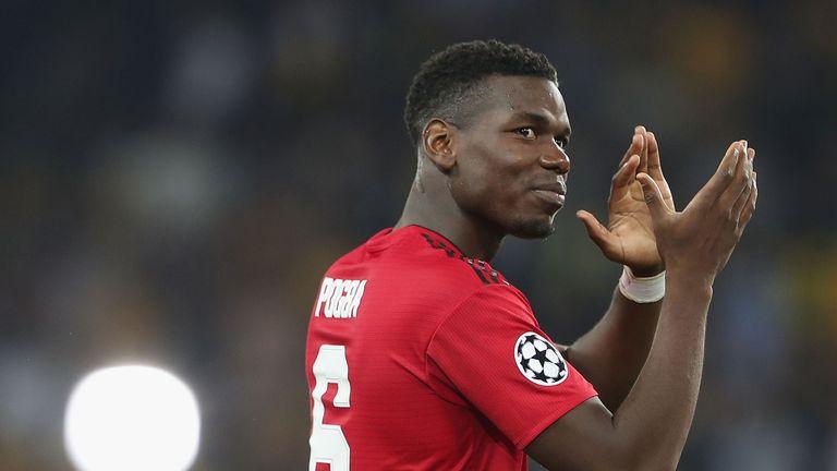Paul Pogba shone in Manchester United's 3-0 win