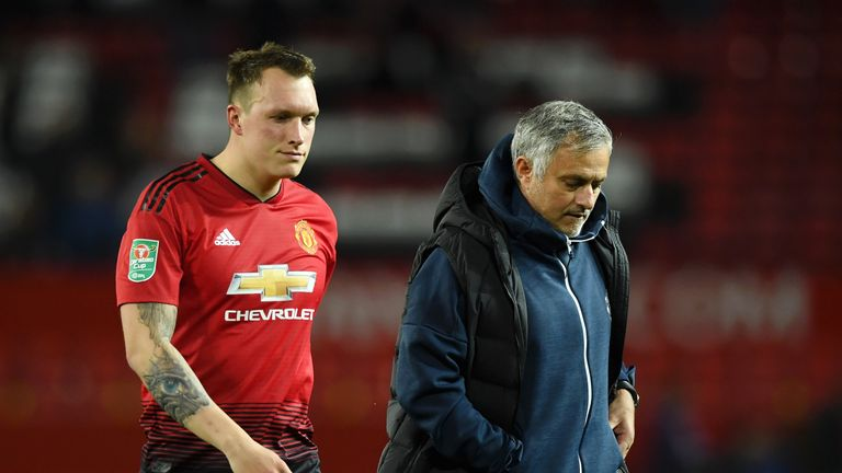 during the Carabao Cup Third Round match between Manchester United and Derby County at Old Trafford on September 25, 2018 in Manchester, England.