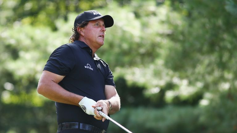 Phil Mickelson could earn a 12th cap from Team USA at the Ryder Cup
