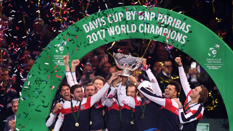 France will be defending their Davis Cup crown