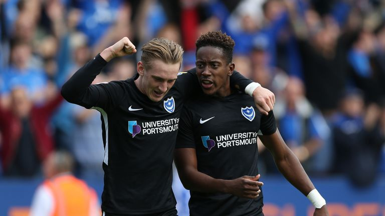 Portsmouth beat Peterborough to move top of Sky Bet League One
