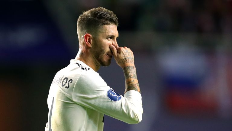 Ramos charged by UEFA with drawing deliberate booking