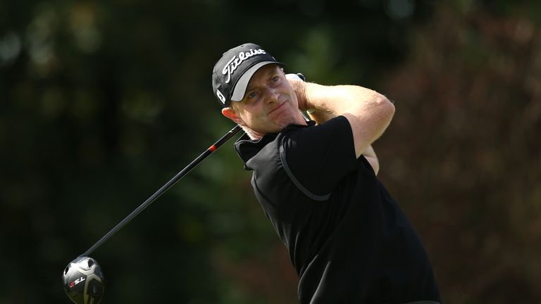McEvoy lies in fifth place on 11 under