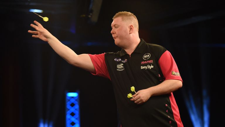 Ricky Evans targets making his mark on the TV stage after a breakthough year on the PDC Tour