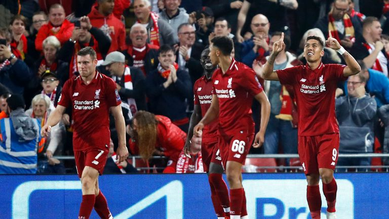 Roberto Firmino netted late on to see off PSG
