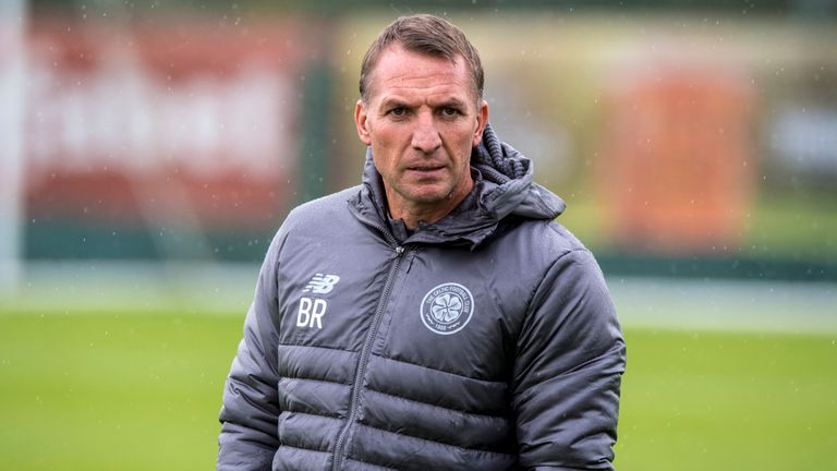 Brendan Rodgers distanced himself from Villa after Celtic's win at the weekend but did not rule himself out