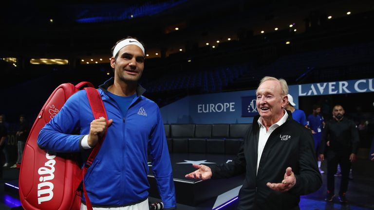 Rod Laver Is A True Legend Of Tennis With 11 Grand Slam Titles To