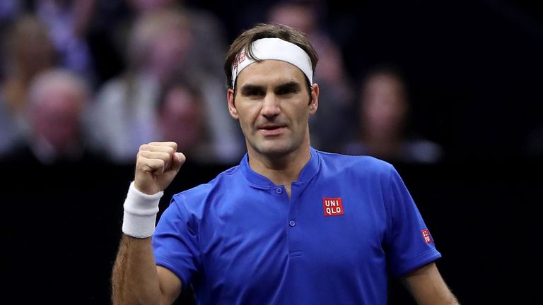 Roger Federer was in immaculate form as he handed Team Europe a 7-1 advantage over Team World