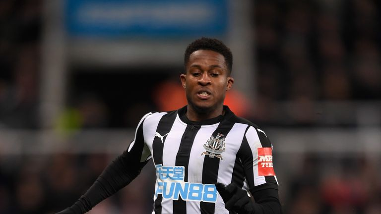 Rolando Aarons last played a Premier League game for Newcastle in December 2017
