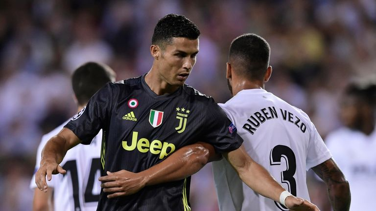 Ronaldo joined Juventus from Real Madrid in the summer
