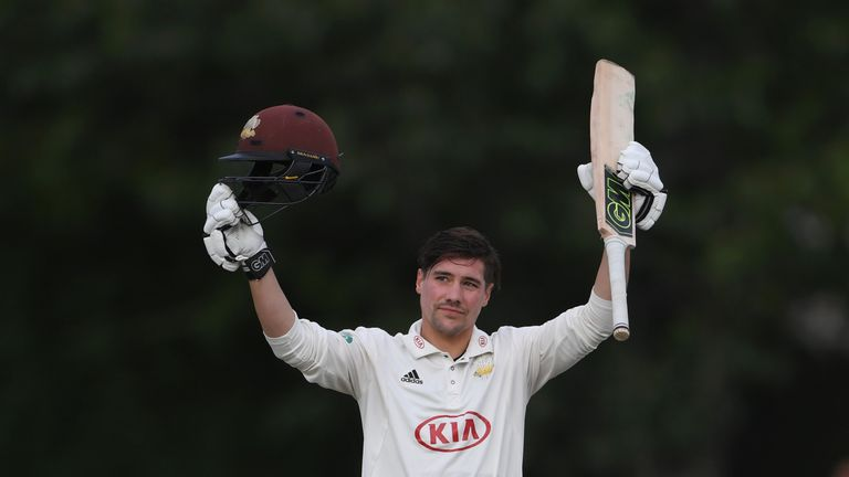 Rory Burns boosted his credentials to fill the void left by Alastair Cook's retirement