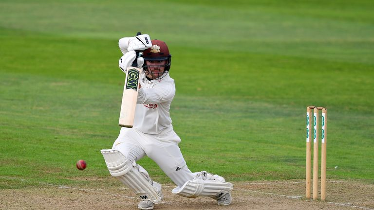 Rory Burns scored 98 in Surrey's second innings