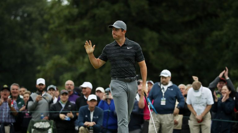 Rory McIlroy is just one behind after a 63